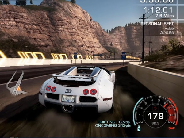 Need For Speed Hot Pursuit 2010 High-Speed Track Beautiful Scenes Lovely Big Roads