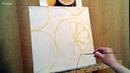 Урок 1 Триптих первая картина Лимон акрил