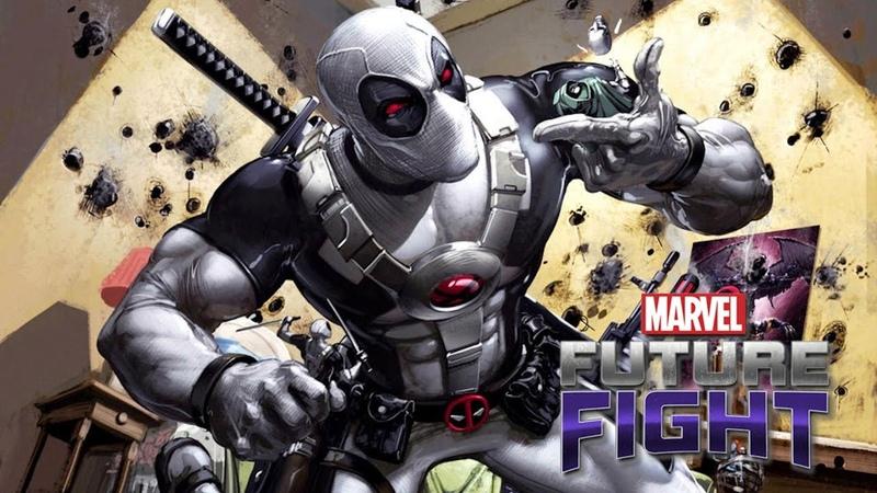 Marvel Future Fight T3 Deadpool Uniform All Max Review 漫威未來之戰 T3死侍 制服 全滿狀態 全模式導覽