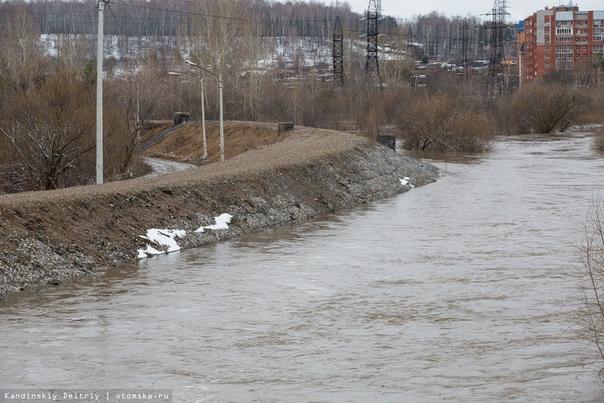Уровень воды в Ушайке на Степановке в Томске за сутки вырос на 70 см