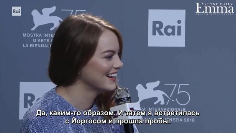 Интервью Radiotelevisione Italiana 2018 русские субтитры смотреть онлайн без регистрации