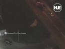 В Питере двое бейсджамперов чуть не попали под колеса проезжающих машин