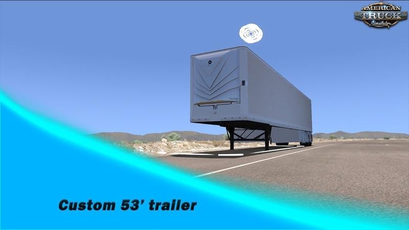 [ATS v1.32x] Custom 53' trailer