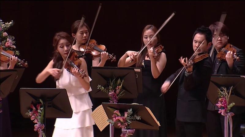 [리처드 용재 오닐, 신지아] 바흐 두 대의 바이올린을 위한 협주곡 1악장