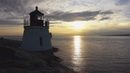 Castle Hill Lighthouse Newport Rhode Island · coub коуб