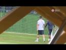 Травма Неймара на тренировке сборной Бразилии