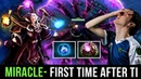 Miracle- First Time on Invoker After TI8 - Back on his Road to TOP 1 MMR - Dark Artistry Set Dota 2