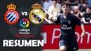 Resumen de RCD Espanyol vs Real Madrid LaLiga Promises 2019