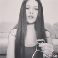 Tania on Instagram #flowers #black #white #singer #music #girl #hair #lips #eyes #sing #song #smule #smulerussia #voice #russiansingers #russiagi...