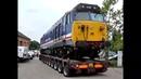 Как в Европе перевозят поезда и трамваи автомобильным транспортом, машинами