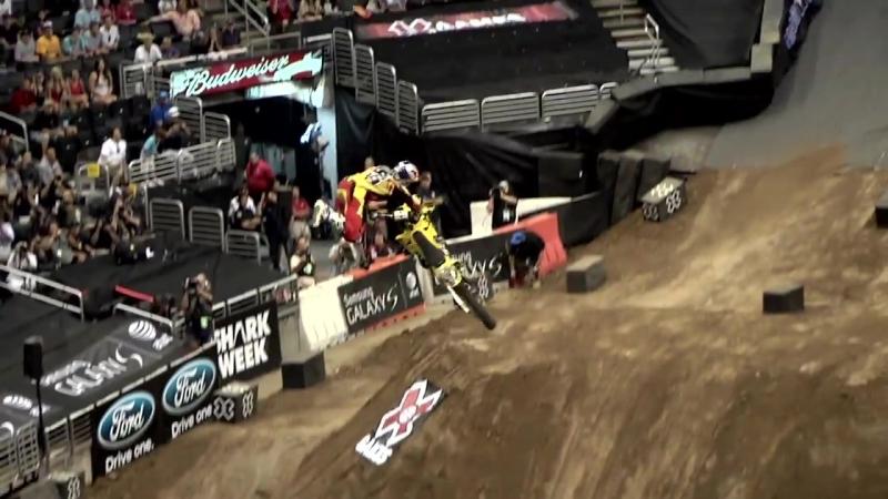 Travis Pastrana vs Nate Adams and Robbie Maddison