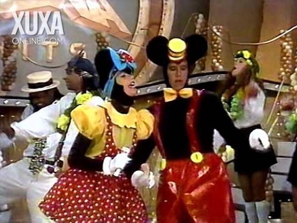 Melhores Momentos Troféu Xuxa Hits 1995 com Márcio Garcia - Parte 02