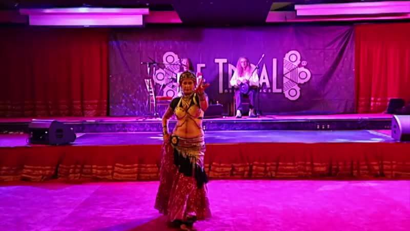 Anita Lalwani y Helm (Moliendo Café) - Show de Gala Be Tribal Bellydance 2018