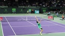 Jack Sock v. Jiri Vesely (Court Level View) 60FPS HD Miami Open 2017 R3