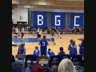 Своеобразная тактика нападения в баскетболе