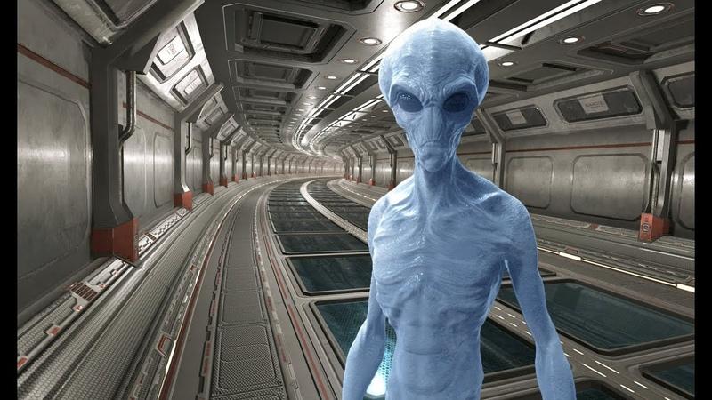 Я видел на базе живого инопланетянина и работал с НЛО пришельцев Совершенно секретно