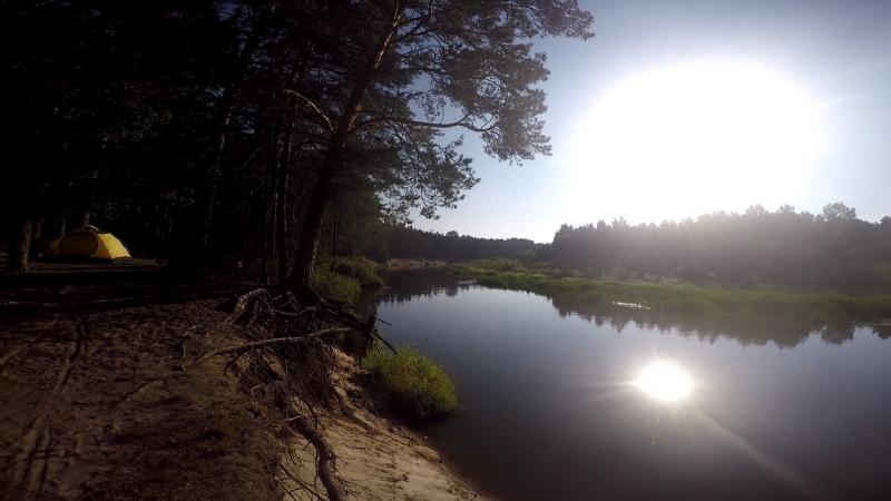 сплав на байдарках по рекам Вилия и Нарочанка