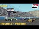 VRC.one Indycar 2018 - Phoenix rfactor2