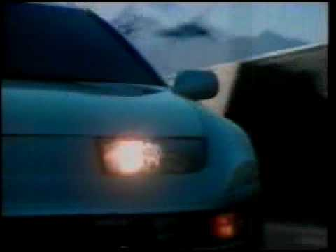 車・CM NISSAN フェアレディZ Z32欧米バージョンcm