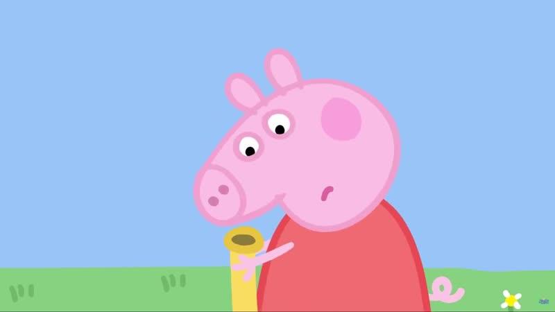 Озвучка peppa pig