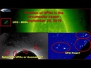 Fixation of UFOs in the circumsolar space - September 25, 2018 (OVNI, НЛО возле Солнца)