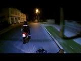 Прохват по ночному городу ЯваJawa 638
