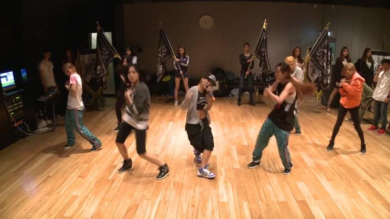 CL - 나쁜 기집애(THE BADDEST FEMALE) Dance Practice (안무연습)