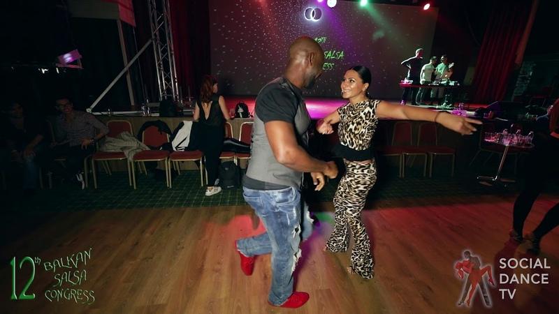 Sean Babatunde Raluca - Salsa Social Dancing | Balkan Salsa Congress 2018