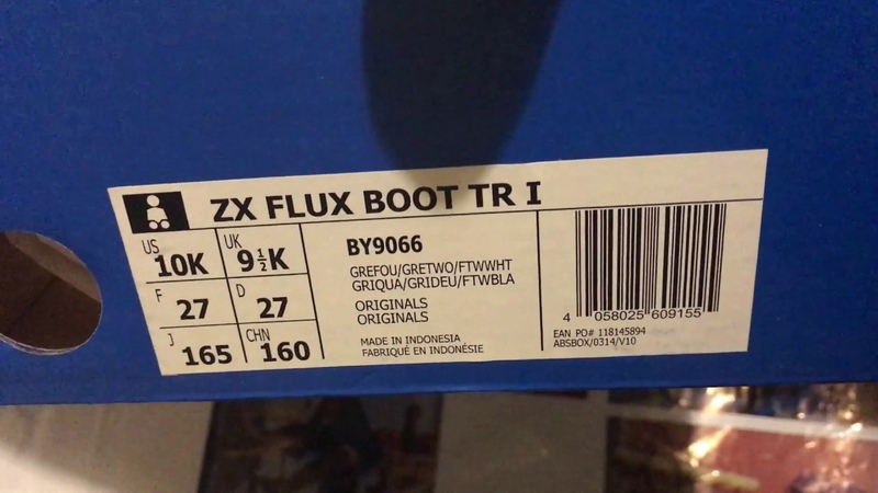 Сапоги adidas zx flux boot tr i by9066
