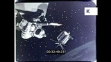 Astronauts in Space, 1950s Science Fiction, HD from 16mm