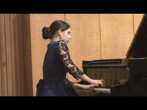 Брамс 3 Интермеццо op.117 - Софья Юдина (фортепиано)