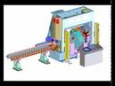 Автоматическая линия резки, пробивки и маркировки GEKA ALPS 160