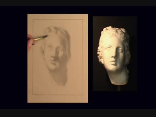 ArtAcademy - Beginning to Draw DVD - 3. The Cast - Intoduction to Portrait Drawing_4