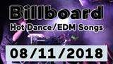 Billboard Top 50 Hot DanceElectronicEDM Songs + Top 10 Albums (August 11, 2018)