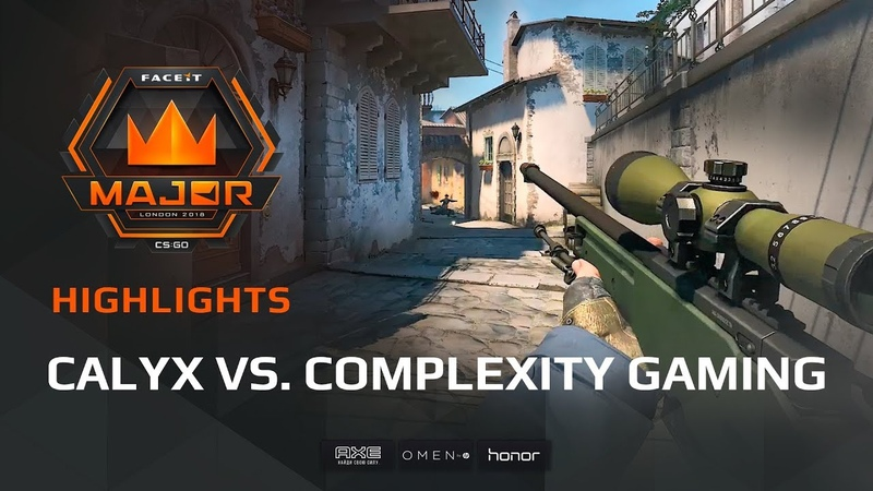 Highlights: Calyx vs compLexity Gaming, FACEIT Major: London 2018 - New Challengers Stage