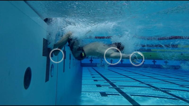Плавание кролем - скоростной поворот   Техника плавания   Выполняет Владимир Морозов   Mad Wave