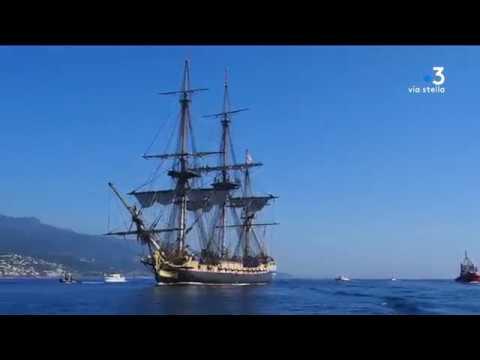Une traversée à bord de l'Hermione pour la Corse!