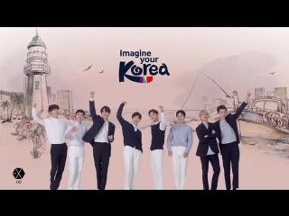 180813 EXO's Sehun @ 2018 Korean Tourism TVC - Korean Adventures