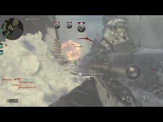 10 man sniper kill feed. cod wwii