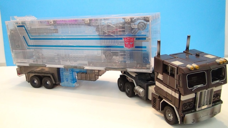 TRANSFORMERS MASTERPIECE SLEEP CONVOY OPTIMUS PRIME VIDEO TOY REVIEW TAKARA LIMITED EDITION