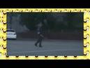 Хохма! Веселый гаишник танцует на перекрестке Приколы на дороге