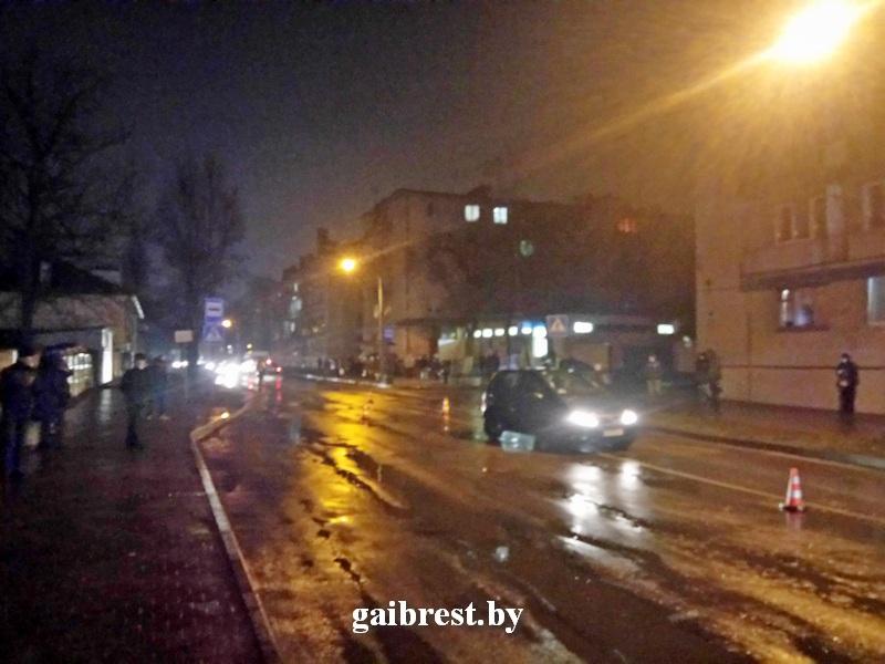 14-летняя девочка травмирована в Бресте в результате ДТП