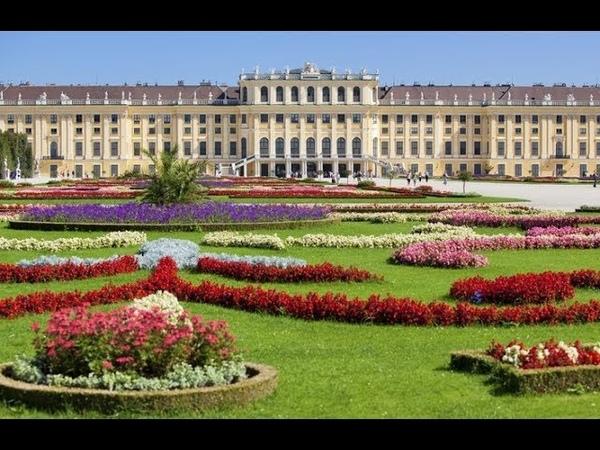 Дворец Шенбрунн Вена Австрия / Schönbrunn Vienna Austria 4K Ultra HD