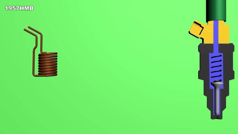 Принцип работы форсунки инжекторного двигателя