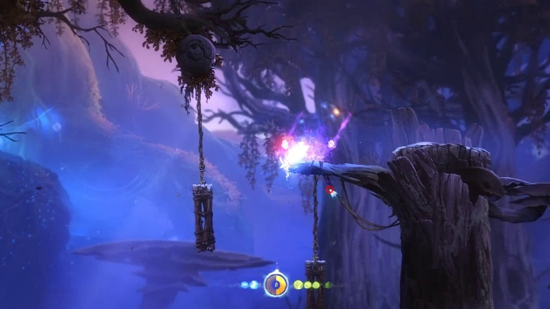Ori and the blind forest 2 Нижние трясины