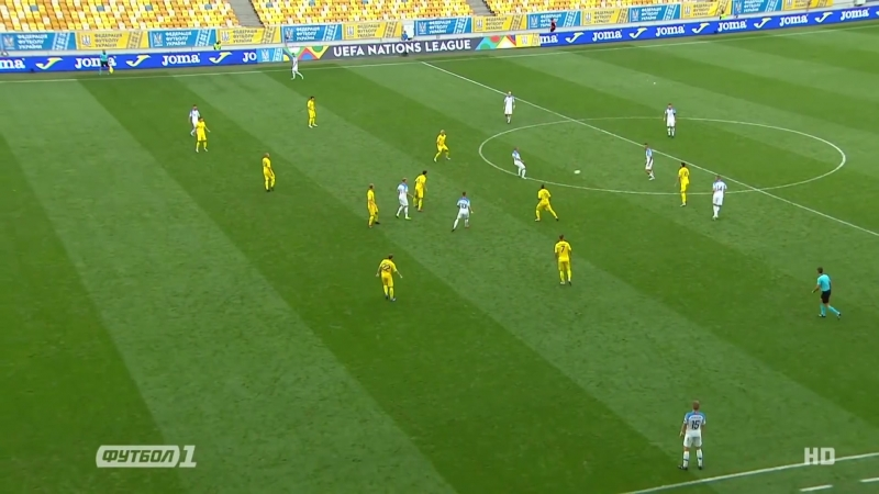 B Ucraine — Slovakia. Highligts 1-0_Full-HD