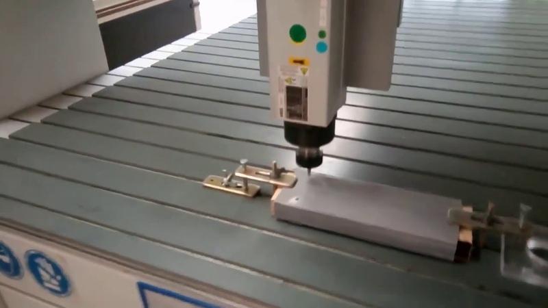 Tigertec фрезерный станок с ЧПУ: обработка стеклопластика