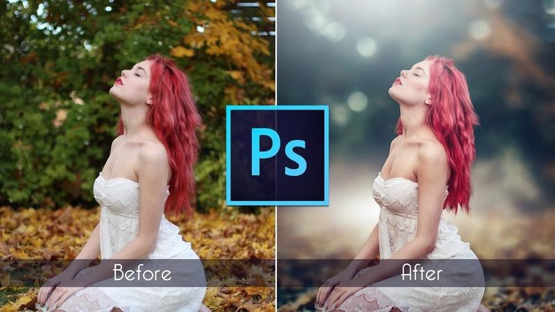 Photoshop cc Tutorial Outdoor Portrait Retouching 📷 August 2017