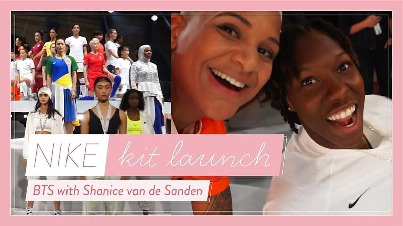NIKE World Cup Kit Launch in Paris with Shanice van de Sanden! FreeYourStyle
