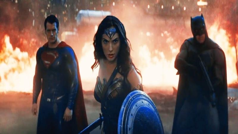 Trindade vs Apocalypse (DUBLADO HD) [Parte 1] | Batman vs Superman: A Origem da Justiça (2016)